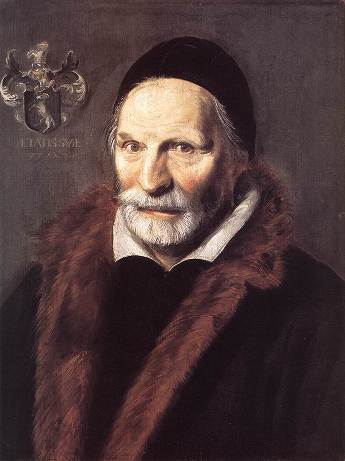 Frans Hals, Jacobus Zaffius, 1611