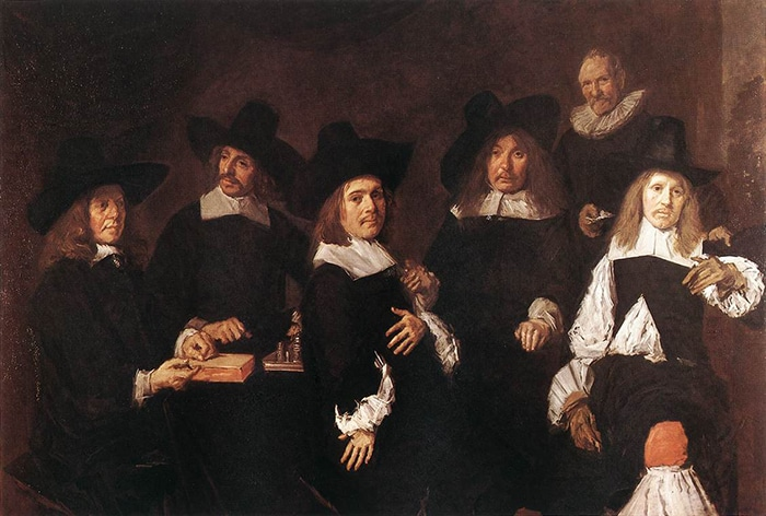 Frans Hals, Regents of the Old Men's Almshouse, 1664