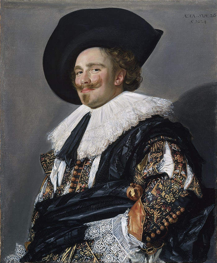 Frans Hals, The Laughing Cavalier, 1624