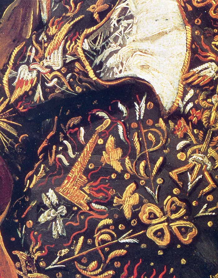Frans Hals, The Laughing Cavalier-Sleeve Detail, 1624