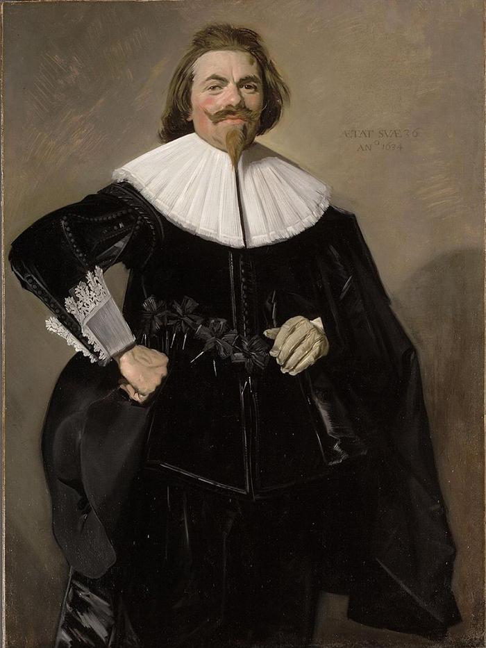 Frans Hals, Tieleman Roosterman, 1634