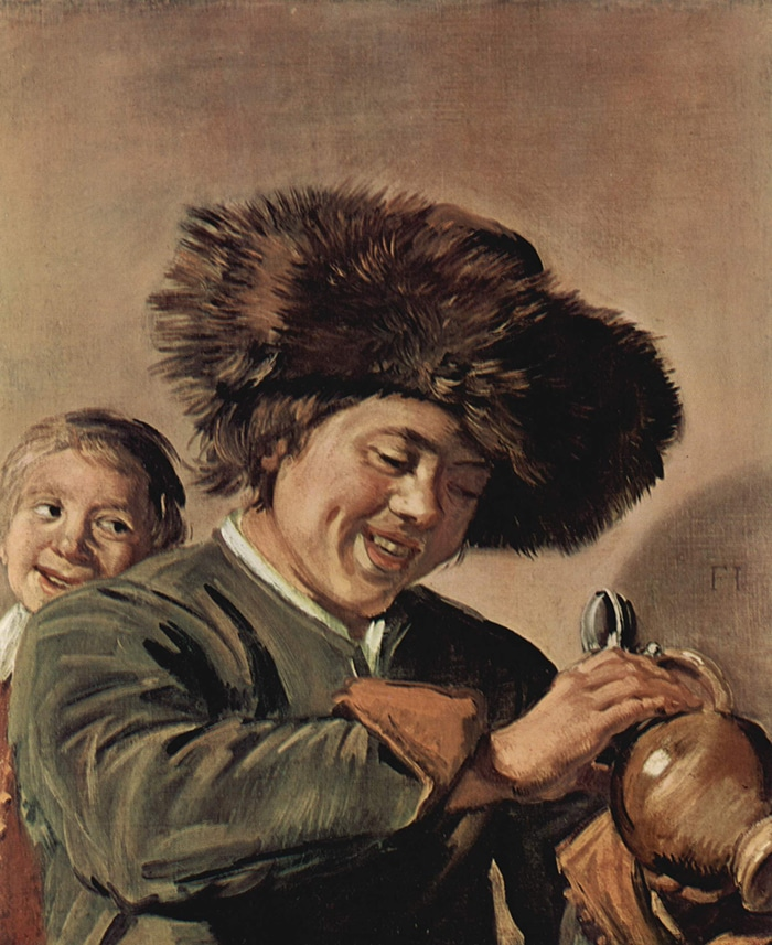 Frans Hals, Two Laughing Boys with a Mug of Beer, 1626