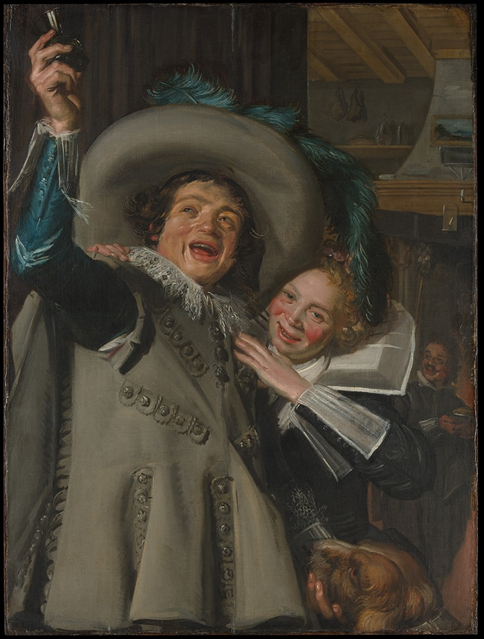 Frans Hals, Yonker Ramp and His Sweetheart, 1623