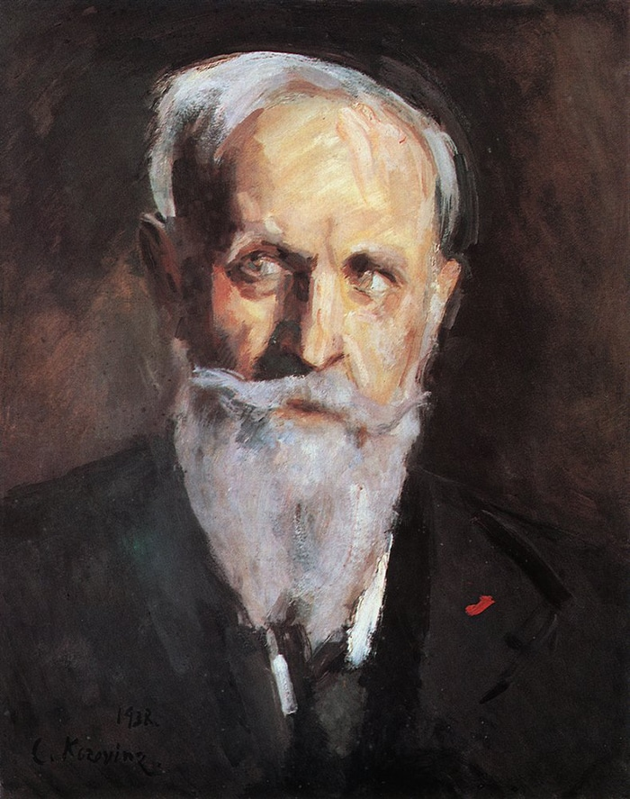 Konstantin Korovin, Self Portrait, 1938