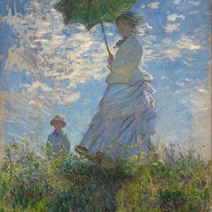 Claude Monet, Woman With a Parasol, 1875