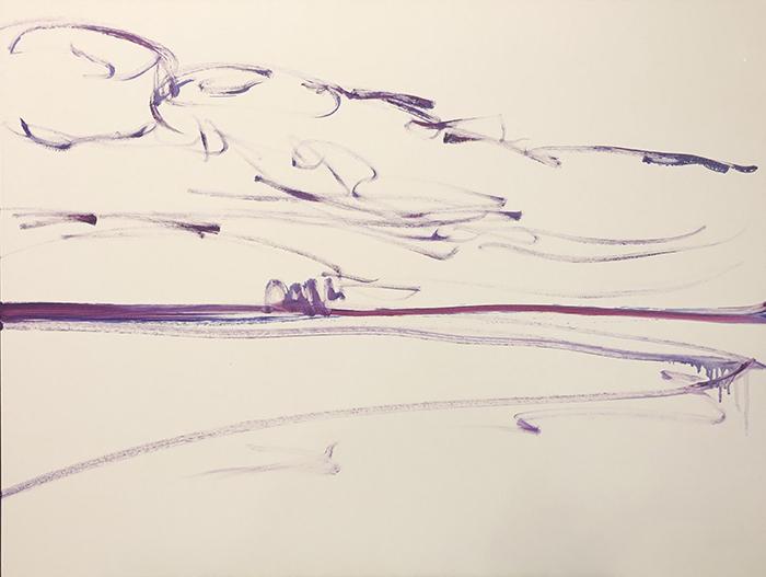 Dan Scott, Dramatic Sunrise, Caloundra, 1