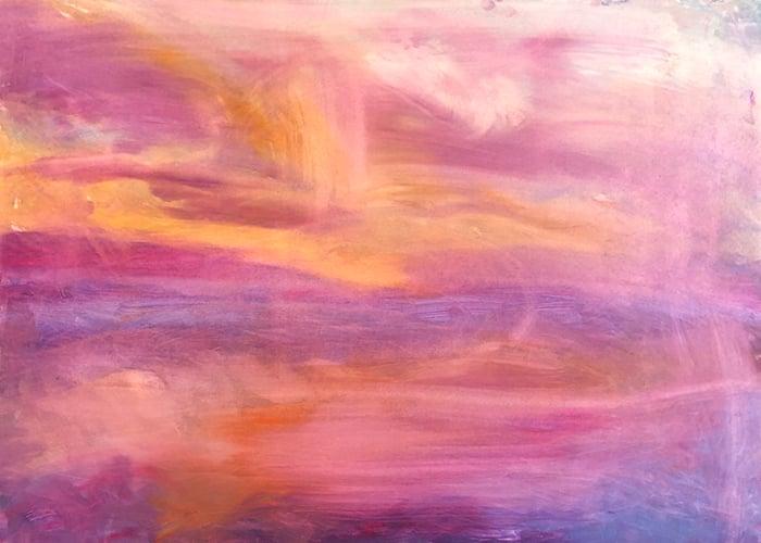 Dan Scott, Dramatic Sunrise, Caloundra, 2