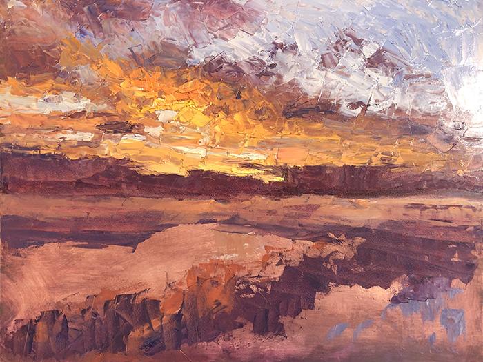 Dan Scott, Dramatic Sunrise, Caloundra, 3
