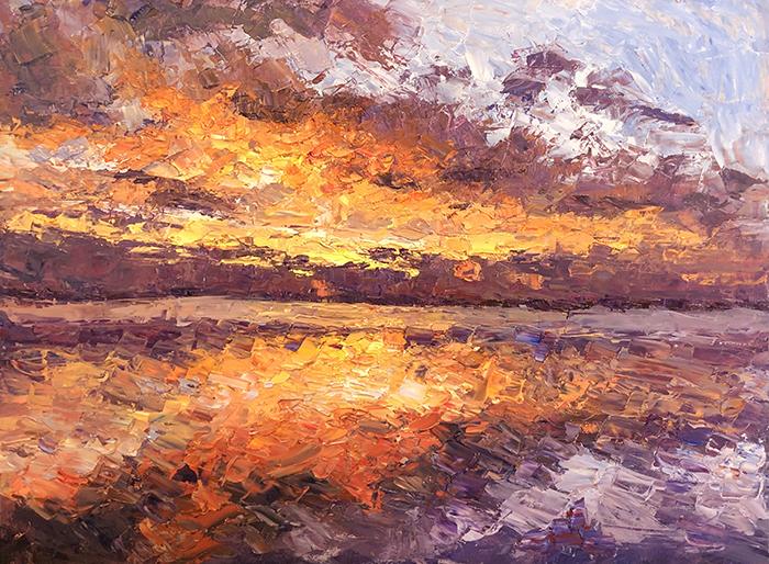 Dan Scott, Dramatic Sunrise, Caloundra, 5