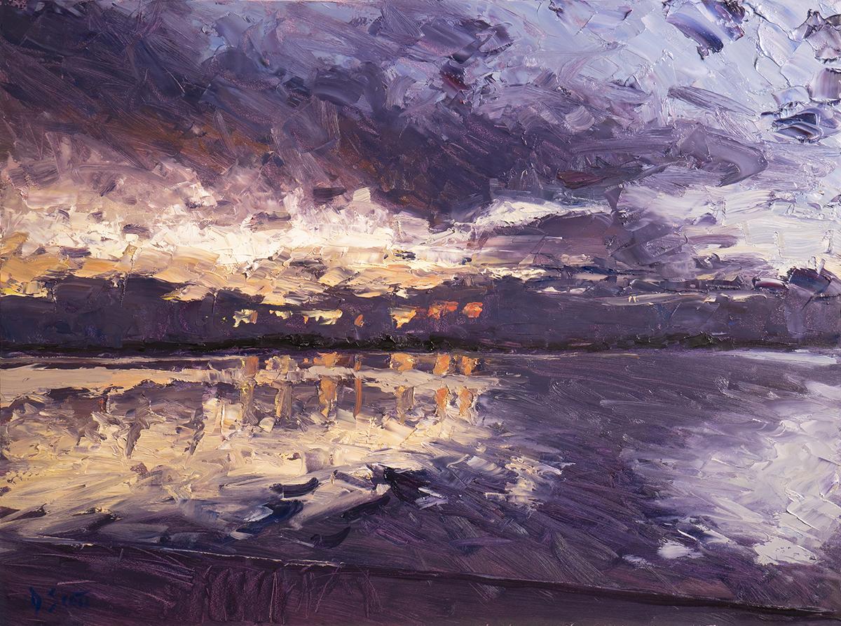 Dan Scott, Early Sunrise, Caloundra, 2020