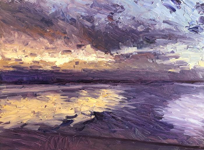 Dan Scott, Early Sunrise, Caloundra, 5