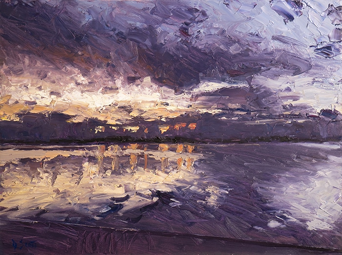 Dan Scott, Early Sunrise, Caloundra, 2020
