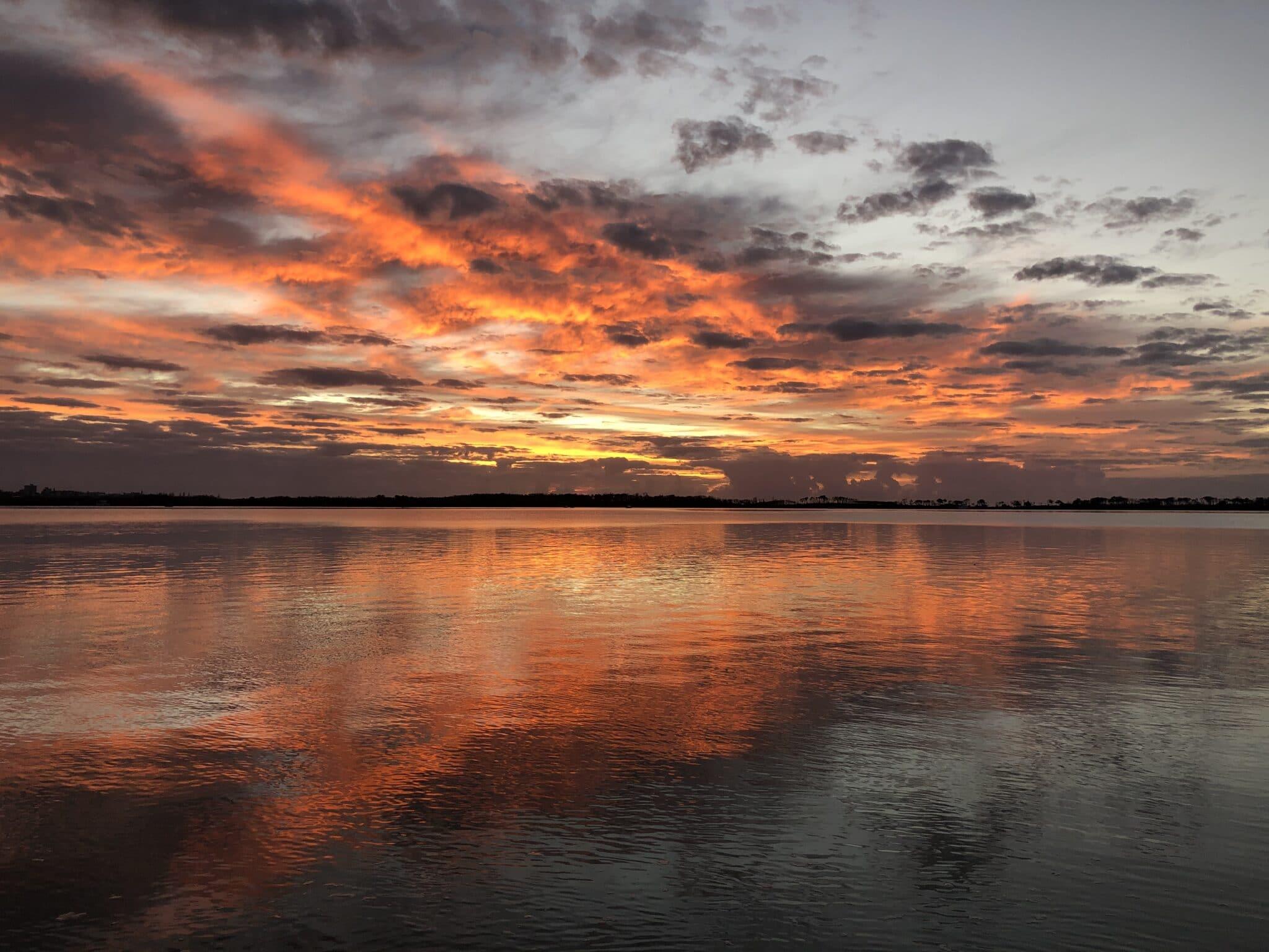 Dan Scott, Reference Photo, Dramatic Sunrise, Caloundra
