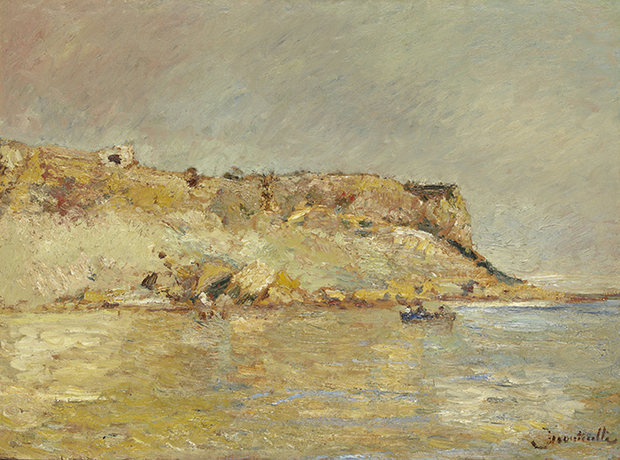Adolphe Joseph Thomas, Kustgebergte, Monticelli, 1870-1880