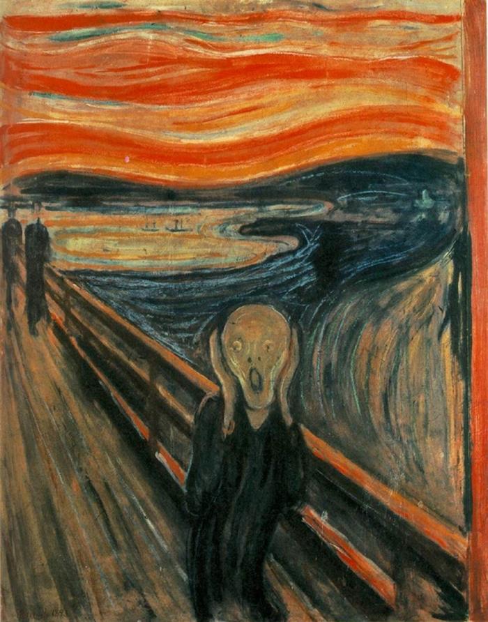 Edvard Munch, The Scream, 1895