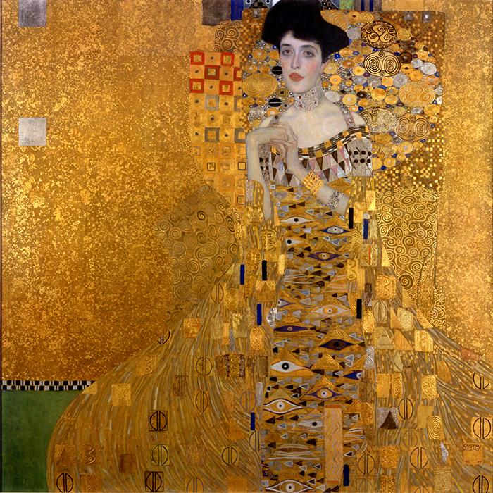 Gustav Klimt, Adele Bloch-Bauer I, 1907