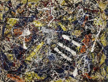 Jackson Pollock, Number 17A, 1948