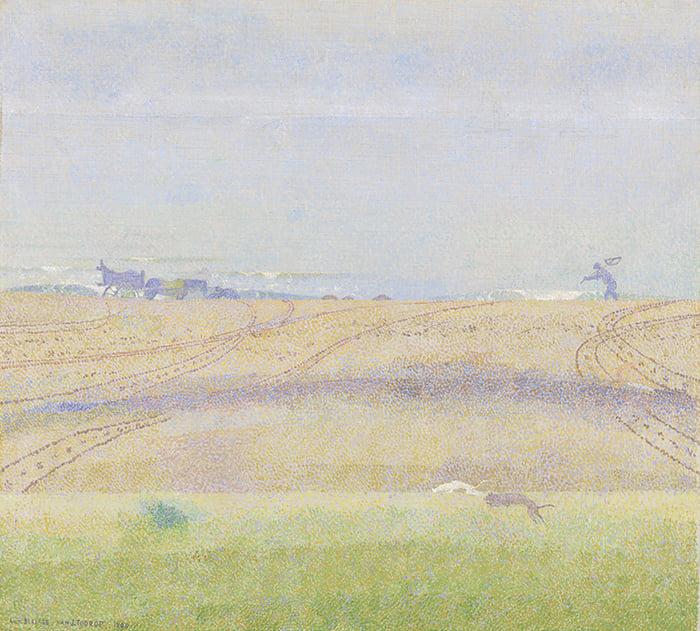 Jan Toorop, Misty Sea, 1899