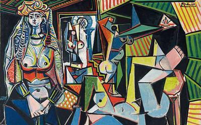 Pablo Picasso, Les Femmes d'Alger (Version O), 1955
