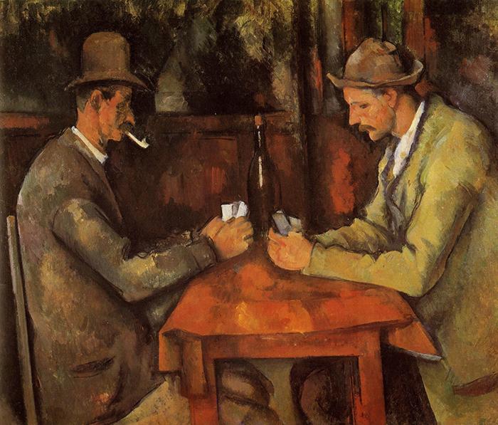 Paul Cezanne, The Card Players, c.1890