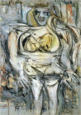 William de Kooning, Women III, 1953