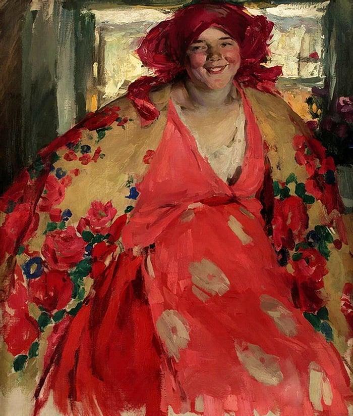 Abram Arkhipov, Smiling Girl