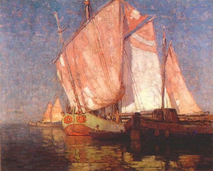 Edgar Alwin Payne, Adriatic Cargo Boats