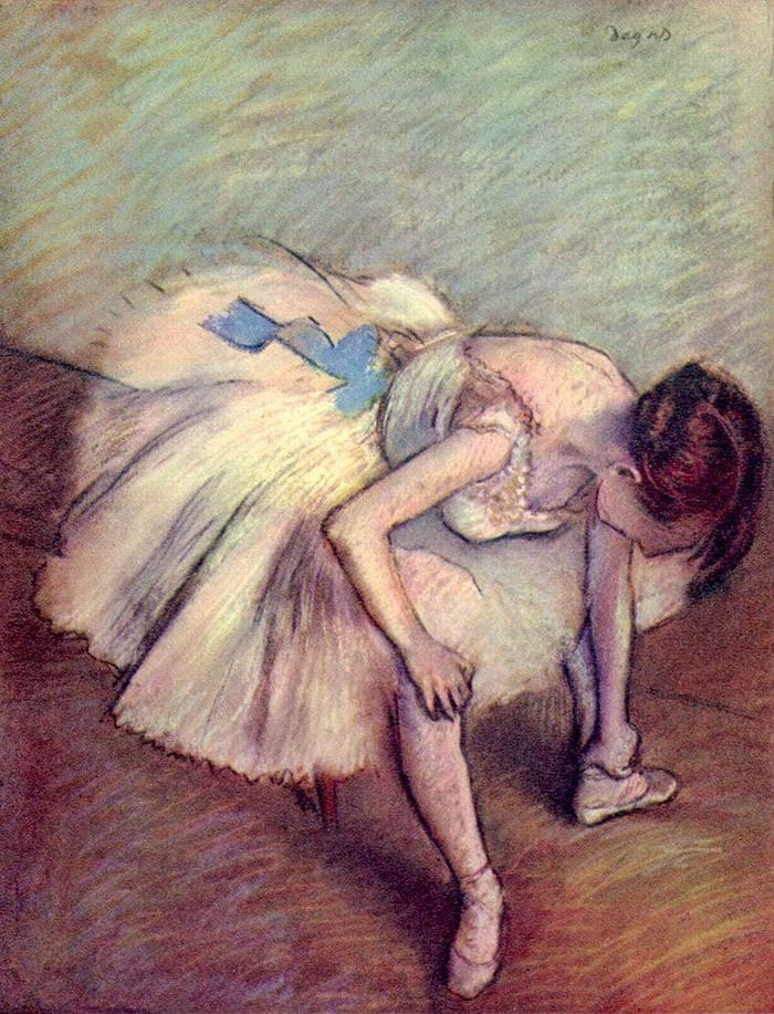 Edgar Degas, Dancer, 1883
