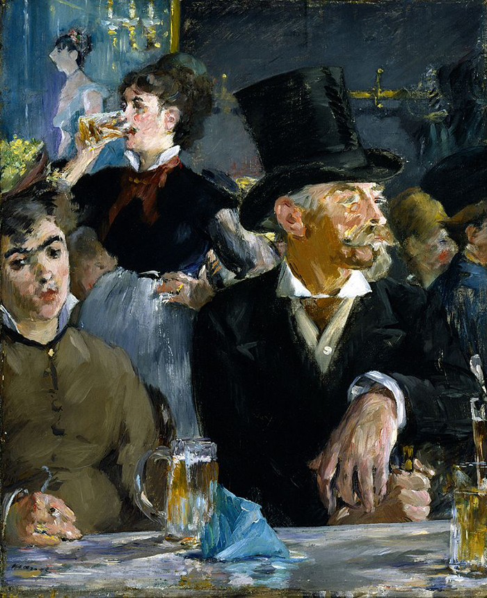 Edouard Manet, The Cafe Concert, 1878