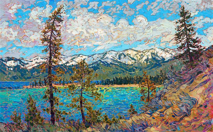 """Interview With """"Open Impressionism"""" Artist Erin Hanson"""