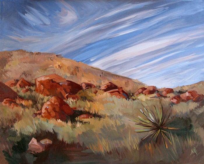 Erin Hanson, Windy Skies, 2009