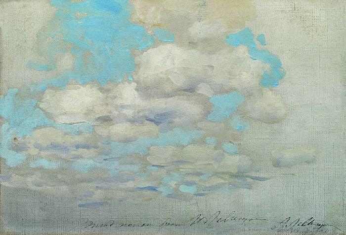 Isaac Levitan, Clouds, 1895