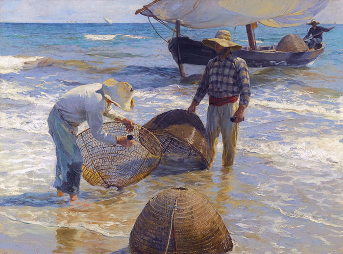 Joaquín Sorolla, Fishermen from Valencia, 1895