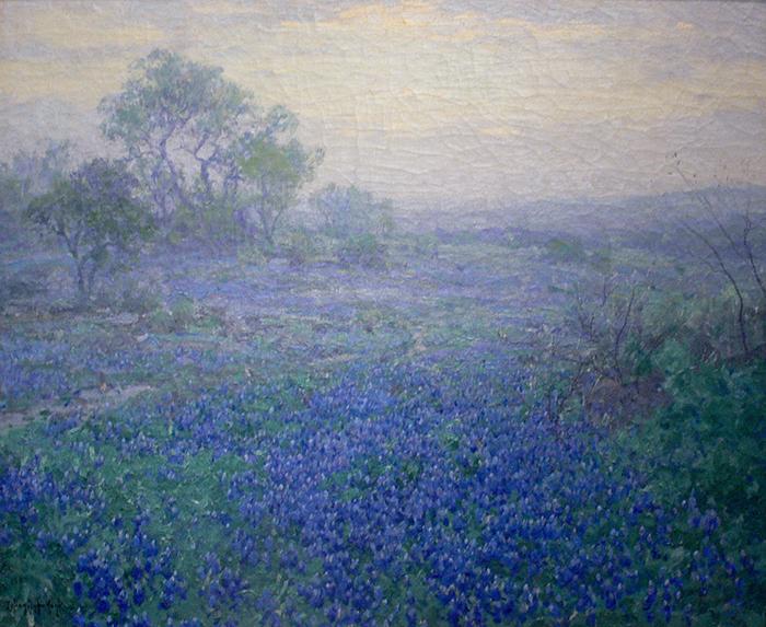 Julian Onderdonk, A Cloudy Day Bluebonnets, 1918
