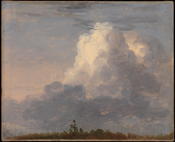 Thomas Cole, Clouds, 1838