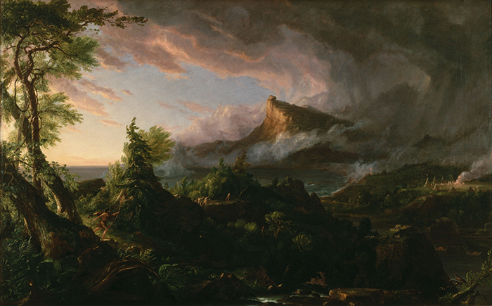 Thomas Cole, The Course of Empire, The Savage State, 1833-1836
