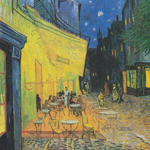 Vincent Van Gogh, Café Terrace at Night, 1888