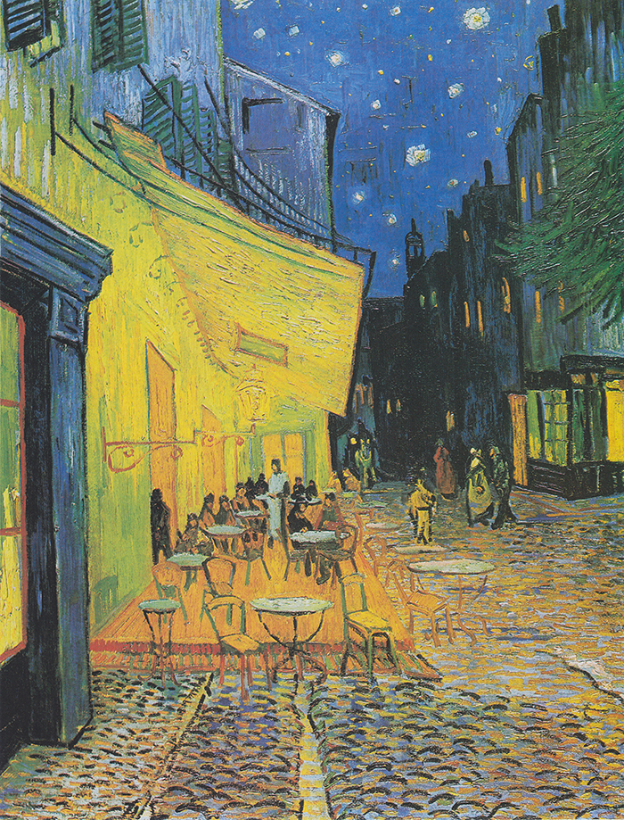 Vincent Van Gogh, Café Terrace at Night, 1888