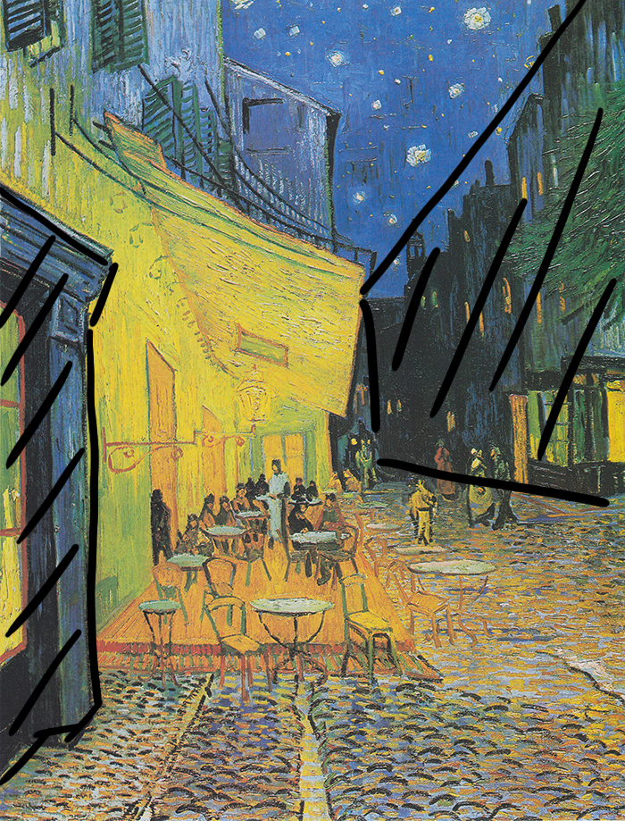 Vincent Van Gogh, Café Terrace at Night, 1888 (Framing)