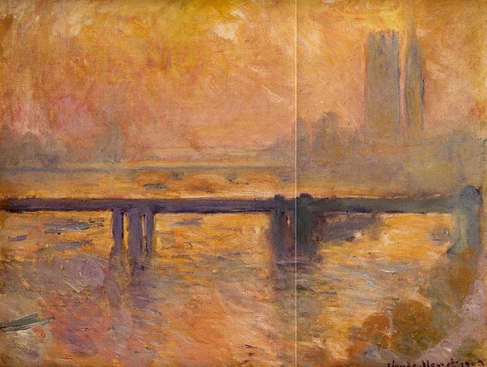 Claude Monet, Bridge to Charing Cross, 1901