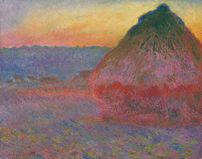Claude Monet, Haystack, 1891
