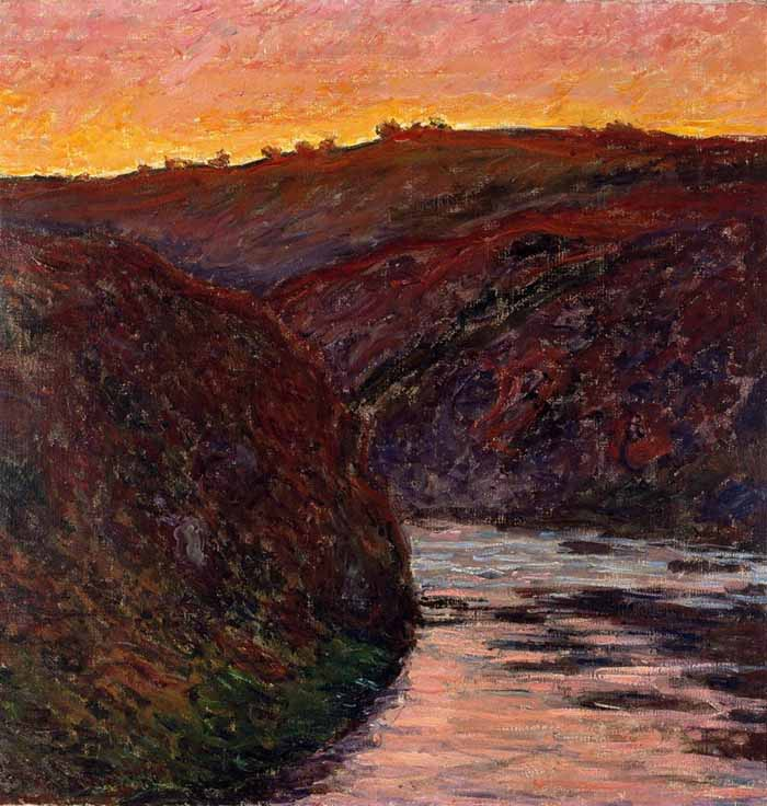 Claude Monet, Valley of the Creuse, Sunset, 1889
