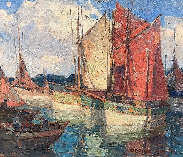 Edgar Payne, Boats