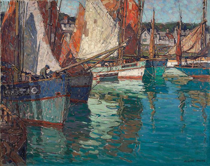 Edgar Payne, Breton Tuna Boats