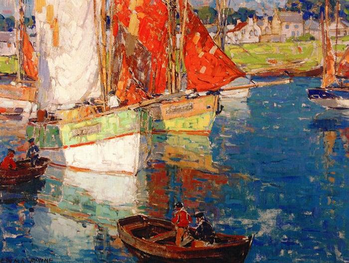 Edgar Payne, Brittany Boats