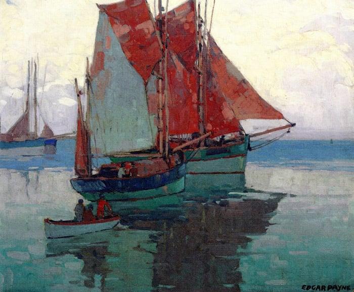 Edgar Payne, Calm Sea