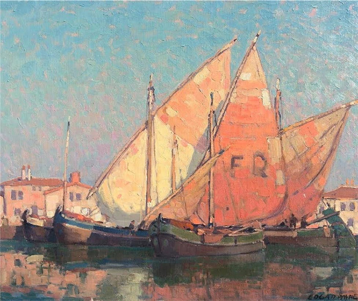 Edgar Payne, Chioggia Boats