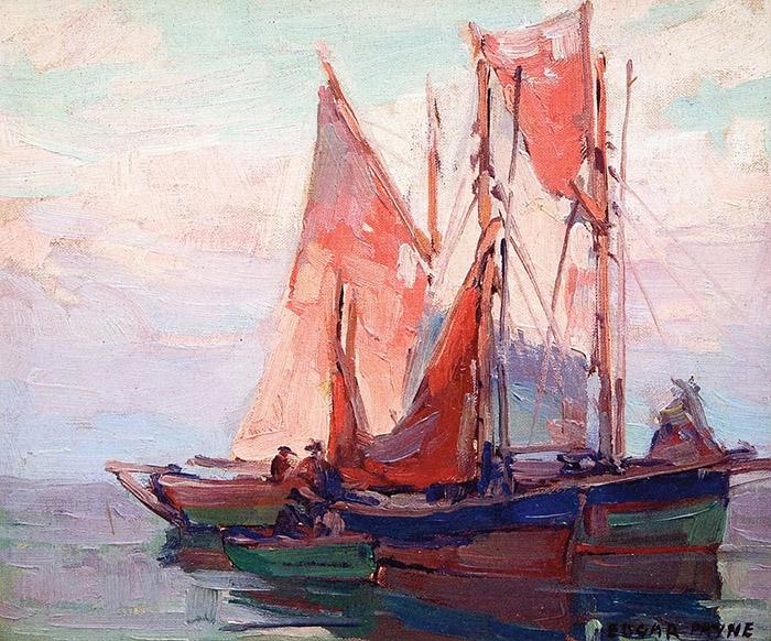Edgar Payne, Fishing Boats