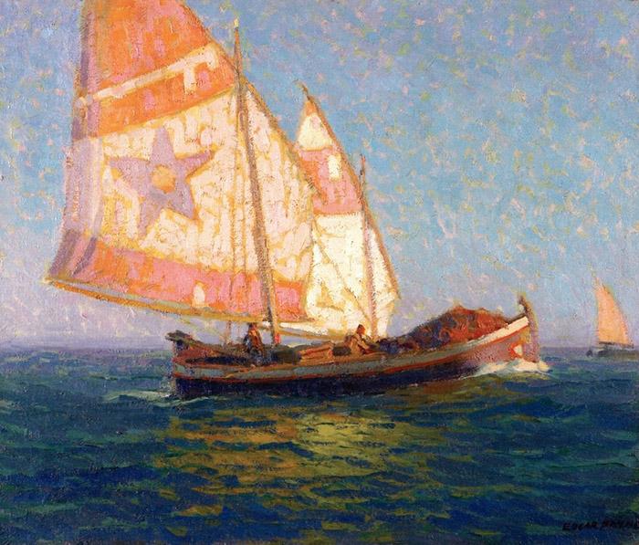Edgar Payne, Italian Fishing Boats