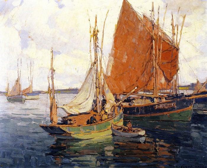 Edgar Payne, Return of the Fleet
